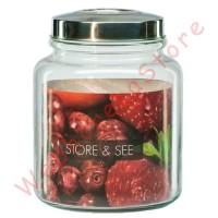 DLX Glass Jar Canister 5.5L Seal/ Toples Kaca Krupuk Manise 7 Kedap