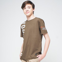 YOUNGSTER 1032 T-Shirt Casual Pria Katun Premium