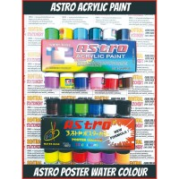 astro asturo cat air akrilik spotlight acrylic paint 20 cc 12 warna