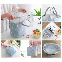 Lunch / Cooler Bag NEW MODEL SERUT (Tas bekal penahan panas/dingin)