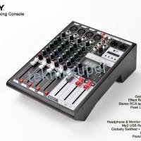 Mixer Audio ASHLEY MDX 4 USB MP3 Bluetooth 4ch