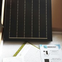Panel Solar cell 20WP marine