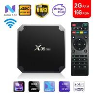 TV Box X96 Mini Android 2GB + 16GB Media Player