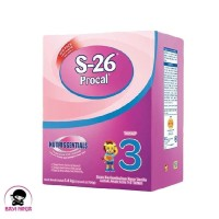 S26 PROCAL 3 Vanila Super Product Susu Box 1400g / 1400 g