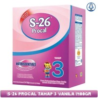 S26 Procal 3 Vanila PRODUK TERBARU 1400 gr