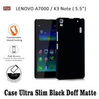 Case Ultraslim Black Doff Matte Softcase Hp LENOVO A7000