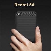Casing Softcase Ipaky Carbon Xiaomi Redmi 5A Case - Hitam