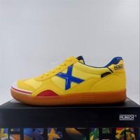 Sepatu Futsal Munich Gresca 04 Yellow 3000607 Original BNIB sports