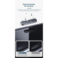 Baseus Dust Prevention Anti Spy Tempered Glass iPhone X XS 11 Pro 2pcs