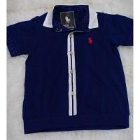 Baju Kaos Berkerah Polo Anak Laki-laki