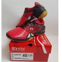 Sepatu badminton HIQUA HI QUA GRANDPRIX RED