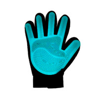 PET SILICONE GROOMING GLOVE SIZE M