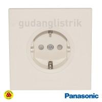 Panasonic Stop Kontak Arde CP 1G WESJP1121 Putih Style Series