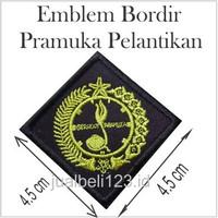 Pramuka Pelantikan Emblem Bordir