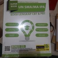 SUPER BOOK UN SM/MA IPA EDISI LENGKAP CBT & PBT RINGKASAN MATERI SOAL