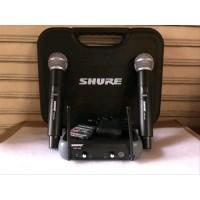 Mic Shure Microphone Wireless SHURE PGX 242 KOPER PEGANG PEGANG