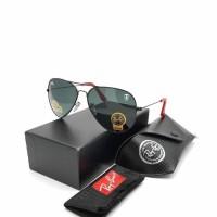 Kacamata Sunglasses Anti UV Lensa Kaca Aviator Ferrari GRADE ORI