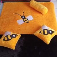 Surpet Karakter lebah Murah 140×180×3cm / kasur karpet