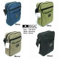 Tas Selempang Kanvas Pria Sling Bag Cowok Travel Bag Laki Tas Kecil