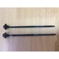 Nylon Plastik Pengikat Kabel Klip Panah / Insulock To Body Kabel Ties