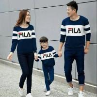 Hoodie Family Couple Baju Keluarga 1 Anak Lengan Panjang 11155