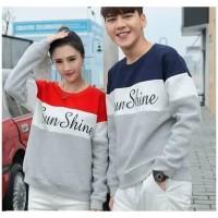 Hoodie Couple Sweater Baju Pasangan | Kope Kembar Sunshine 11202