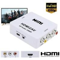 Konverter MINI HDMI2AV HDMI TO AV RCA CVBS HD Video Converter 1080p