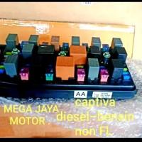 fuse box chevrolet captiva c100 diesel bensin original GM
