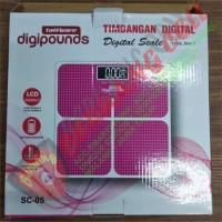 Taffware Digipounds Timbangan Badan Kaca Elektronik 180KG - Malang