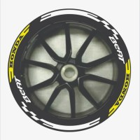 sticker cutting List velg motor honda beat 1set. Stiker cutting pelek