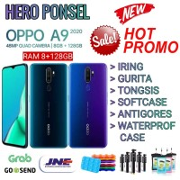 OPPO A9 2020 RAM 8/128 GB GARANSI RESMI OPPO INDONESIA