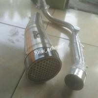 Knalpot R9 H2 Racing - Vespa Matic 3V Iget Sprint Primavera LX S