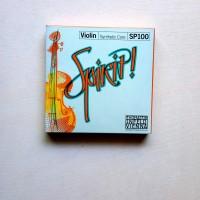 senar biola SPIRIT violin string 1 set isi 4 senar GDAE