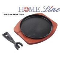 Hot Plate BULAT 22 cm Tebal Home Line