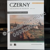 Czerny Opus 299 the School of Velocity Alfred Indonesia Edition