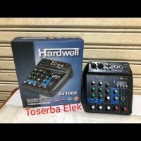 MIXER AUDIO 4CH HARDWELL DJ 1000 ORIGINAL
