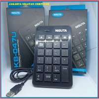 Keyboard Numerik NISUTA KB 047U With 4 Office Hot Keys Murah