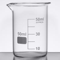 BEAKER GLASS / GELAS UKUR KIMIA - 50 ML