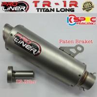 Knalpot Motor Proliner Tr-1R Titan Long Ninja 250 Fi 2017 Exhaust