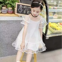dress pesta anak/dress korea/dress import/gaun korea style