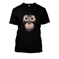 Kaos Orangutan Black Edition
