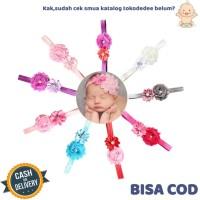 TokoDedee - Bando Bayi Bunga Kecil Lace / Bando Bayi Perempuan
