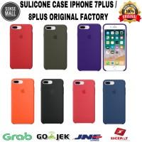 CASE SOFTCASE SILICONE CASE IPHONE 7 PLUS / 8 PLUS 100% ORIGINAL APPLE - Violet