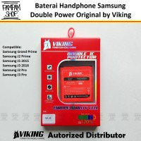 Baterai VIKING Double Power Original Samsung Galaxy Grand Prime G530
