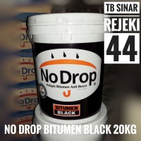 No Drop Bitumen Black PAIL 20 KG Cat Pelapis Anti Bocor Waterproofing