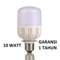 Lampu LED 10W Bohlam 10 w watt white Bulb jumbo 6 8 9 10 PUTIH KAPSUL