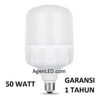 LAMPU LED JUMBO 50W bohlam 50 w watt putih bulb 40 33 60 WHITE KAPSUL