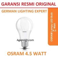 OSRAM Lampu LED Bohlam 4.5 Watt 4 W WHITE 4,5 Bulb 4W PUTIH 4.5W 4,5W