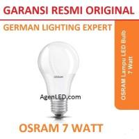 OSRAM Lampu LED 7W bohlam 7 watt white bulb 7watt PUTIH 7 w ORIGINAL