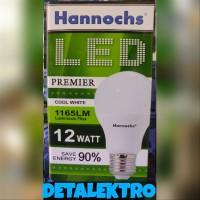 LAMPU LED 12 WATT HANNOCHS   HANNOCH 12WATT   BOHLAM